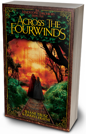 Across the Fourwinds book mockup