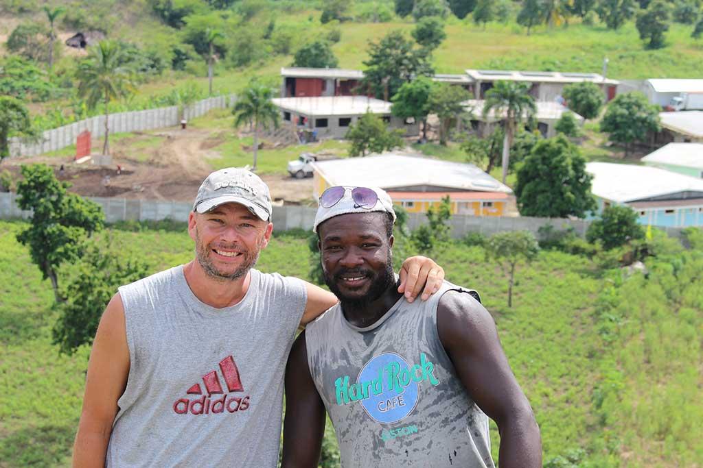 Shane in Haiti