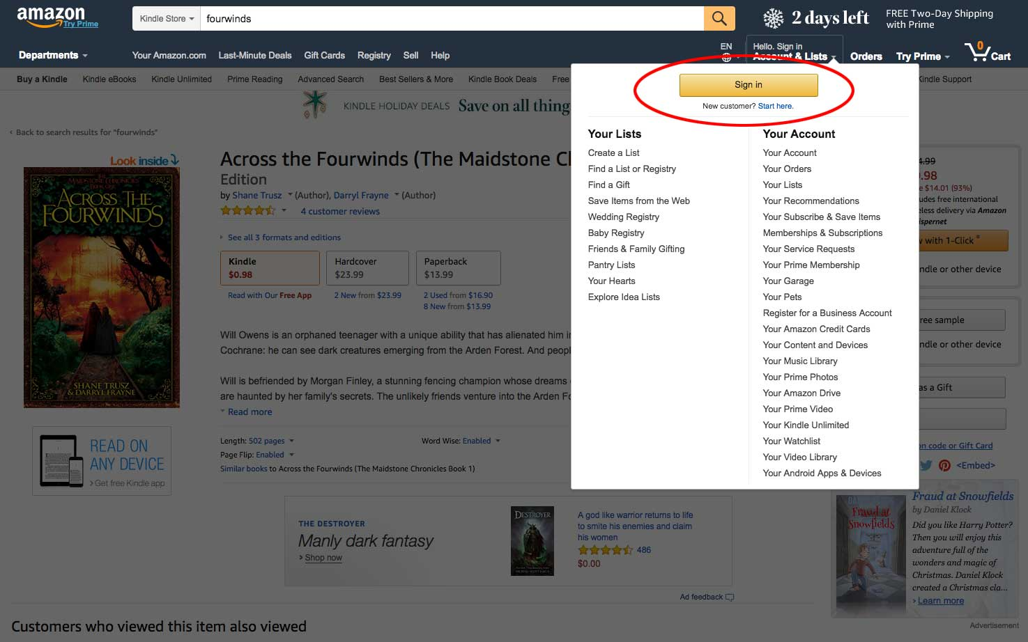 How to Purchase a Kindle Book as a Gift - The Maidstone ... - photo#9