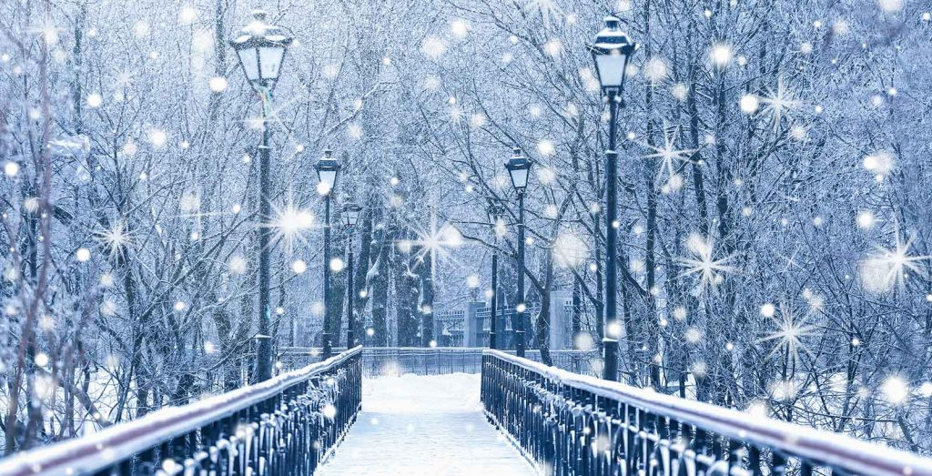 winter fantasy bridge