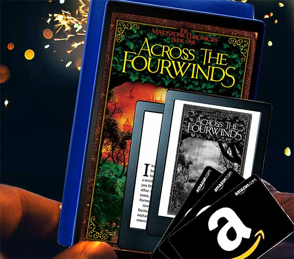 Across the Fourwinds Kindle Book Review Giveaway