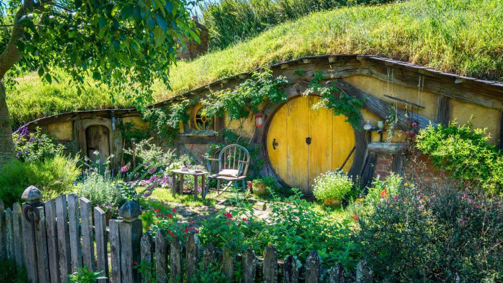 "Hobbiton movie set for ""The Hobbit"" in New Zealand"